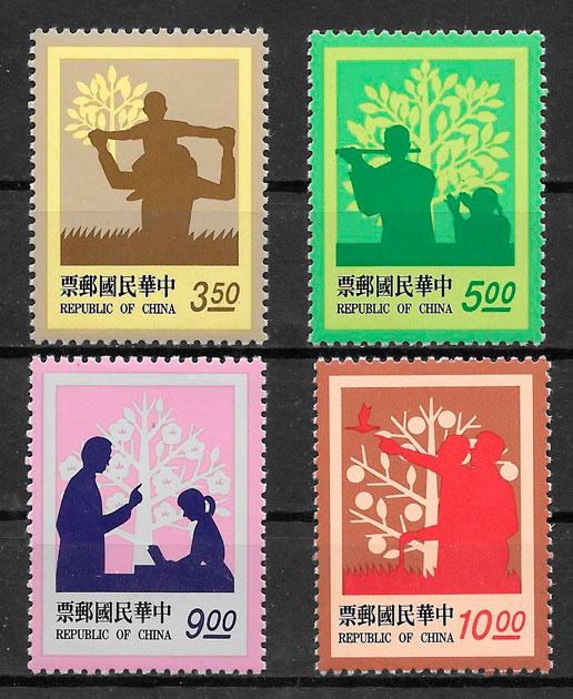 filatelia colección flora Formosa 1993