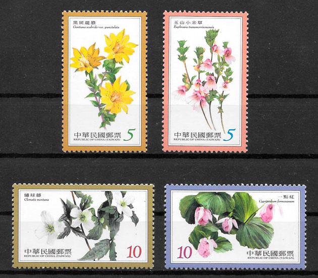 sellos flora Formosa 2011