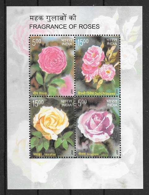 selllos de rosas con fragancia