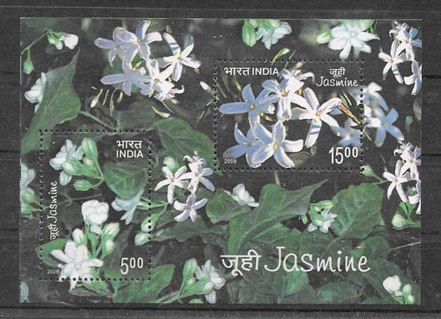 Colección sellos el jazmín de la india