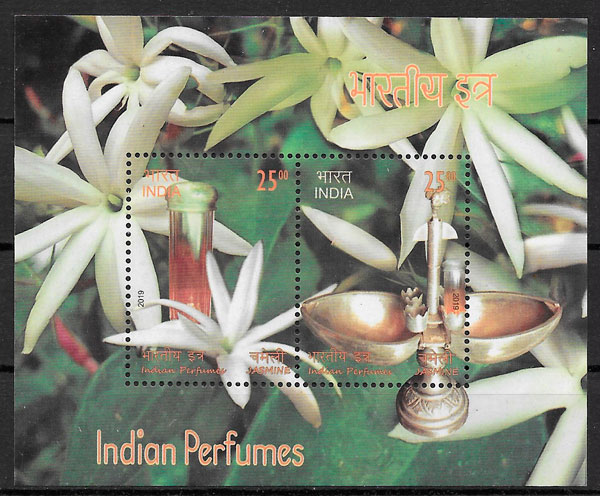 sellos flora India 2018