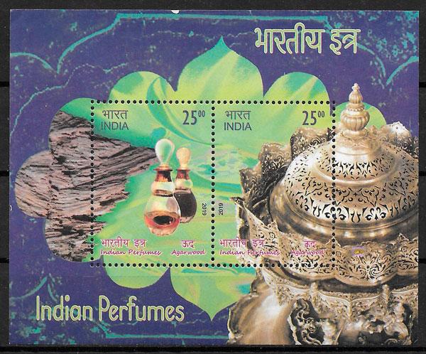 sellos flora India 2019