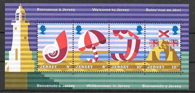 Colección sellos Jersey-1975-01