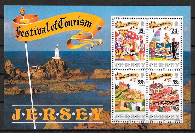 sellos faros Jersey 1990