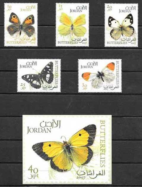 Filatelia Jordania-2007-01