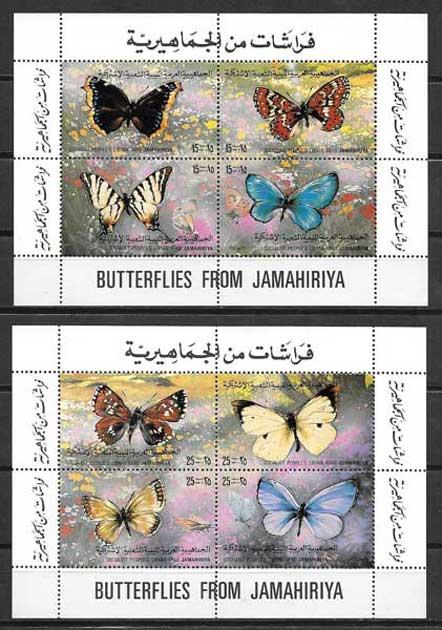 Filatelia Libia-1988-02