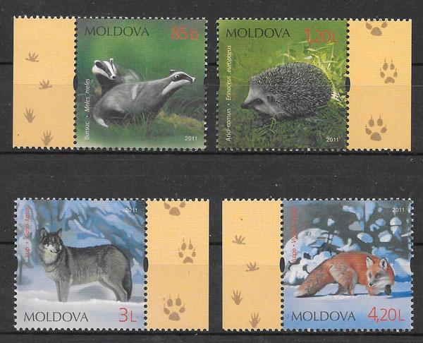 sellos fauna Moldavia 2011