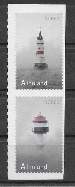 Sellos faros de noruega 2012