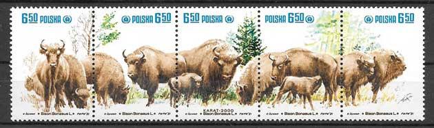 Sellos fauna protegida 1981