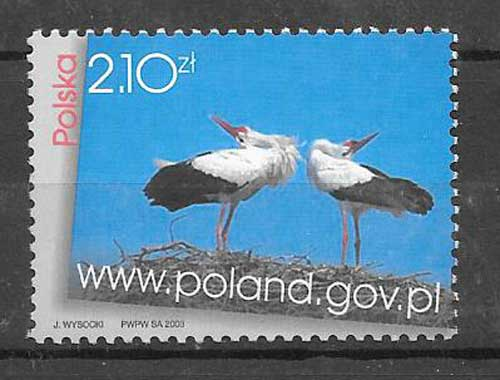 Filatelia fauna protegida 2003