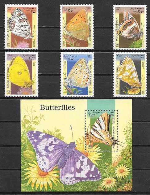 Mariposas de Somalia 1998