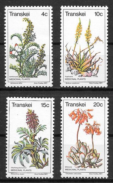 sellos flora Transkei 1977