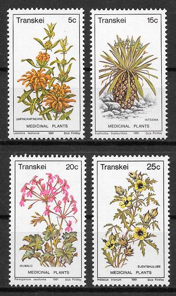 sellos flora Transkei 1978