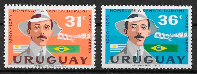 filatelia transporte Uruguay 1959