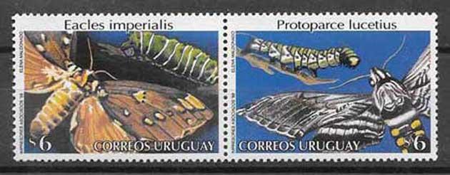 Colección sellos Uruguay-1998-03