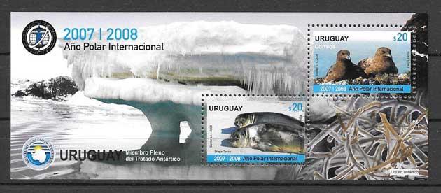 sellos año polar internacional