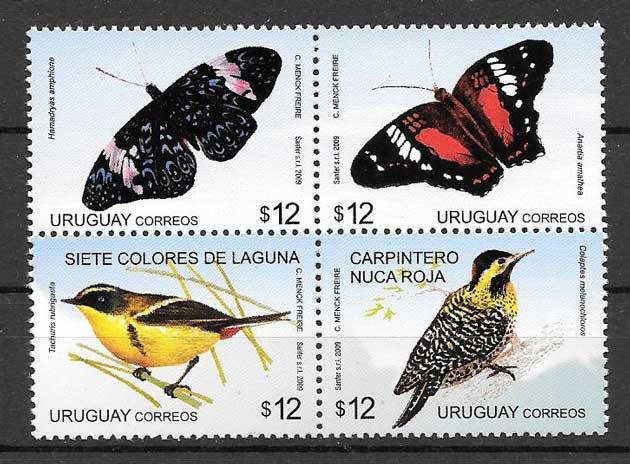 sellos fauna diversa 2009