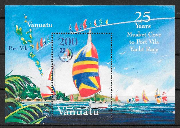 sellos deporte Vanatu 2004