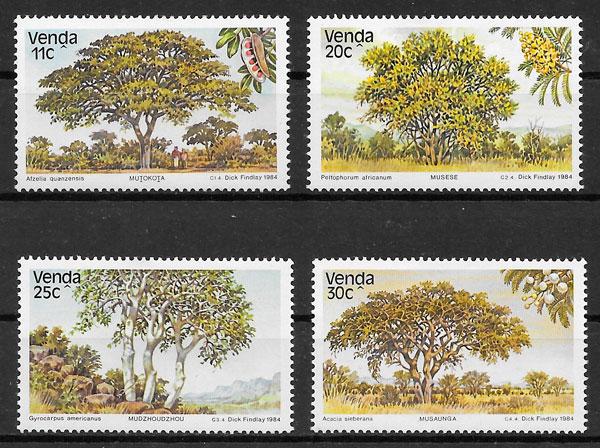 colección sello flora Venda 1984