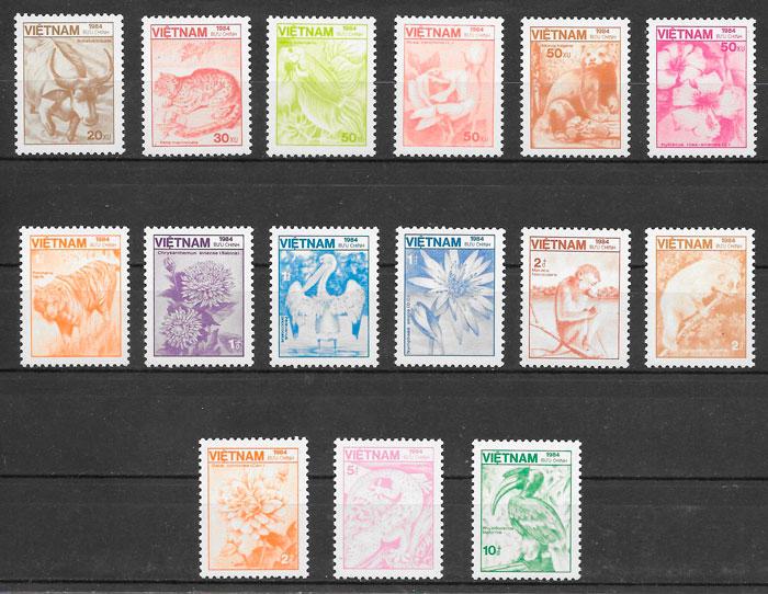 sellos fauna y flora Viet Nam