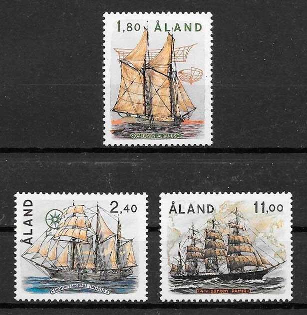 sellos transporte Aland 1988