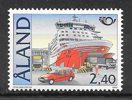 sellos transporte Aland 1998