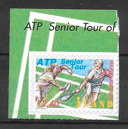 sellos deporte Aland 1998