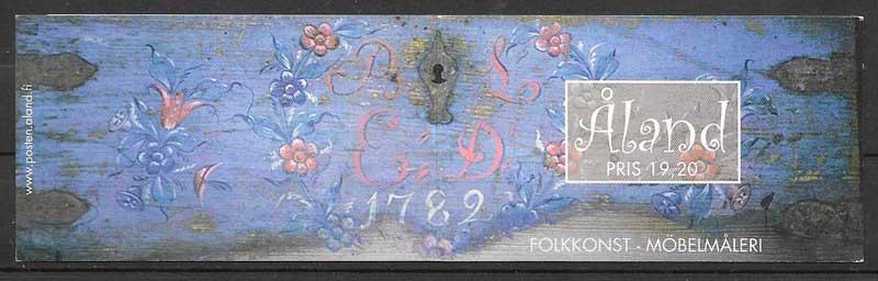 colección sellos transporte Aland 1999