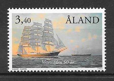sellos transporte Aland 1999
