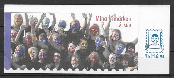 sellos deporte Aland 2009