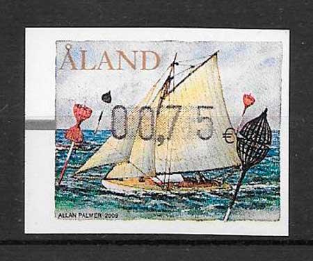sellos transporte Aland 2009