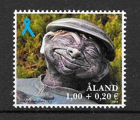 filatelia colección arte Aland 2013