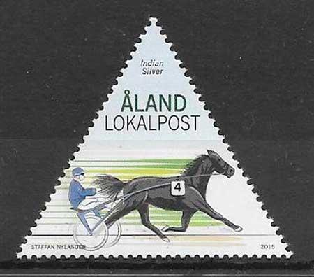colección sellos deporte Aland 2015