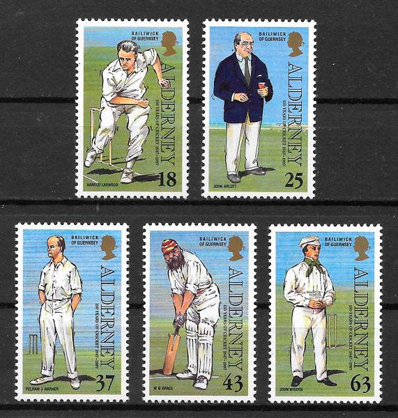 sellos transporte Aldernay 1997