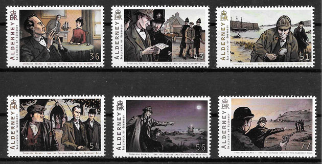 selos arte Alderney 2009