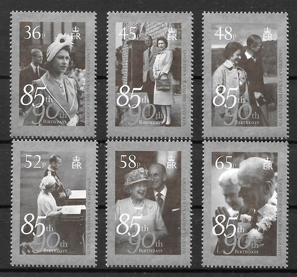colección sellos personalidades Alderney 2011