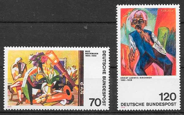 filatelia arte 1964 Alemania