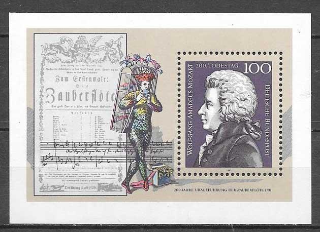 sellos personalidad Alemania 1991