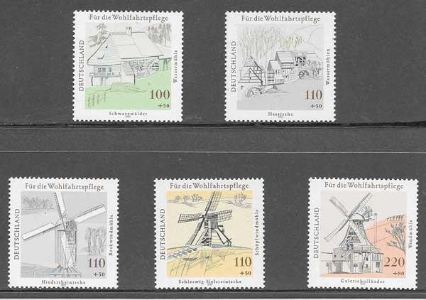 sellos colección arquitectura Alemania 1997