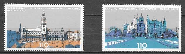 sellos arquitectura Alemania 1999