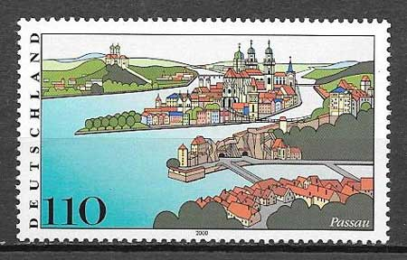 sello arquitectura Alemania 2000