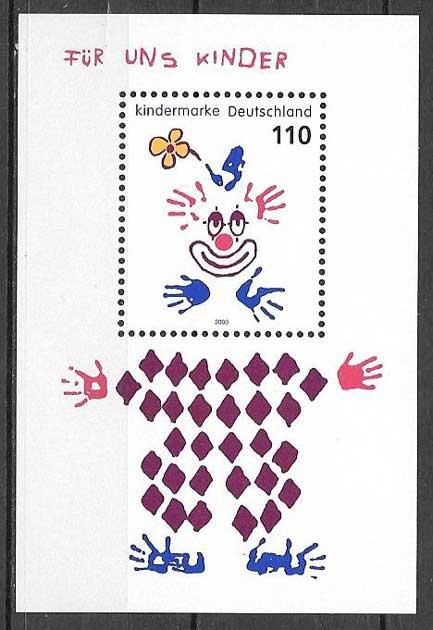 sellos arte Alemania 2000