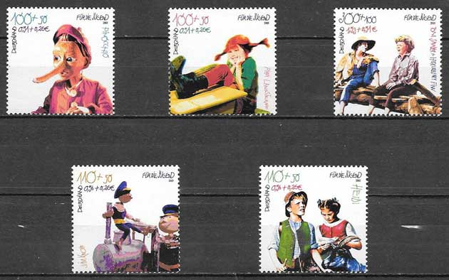 sellos arte Alemania 2001