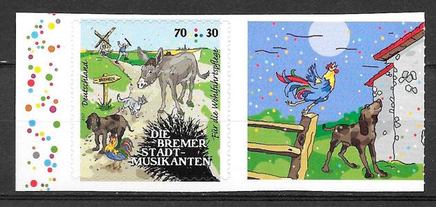 sellos cuentos Alemania 2017