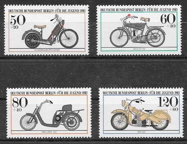 sellos transporte Alemania Berlin 1983