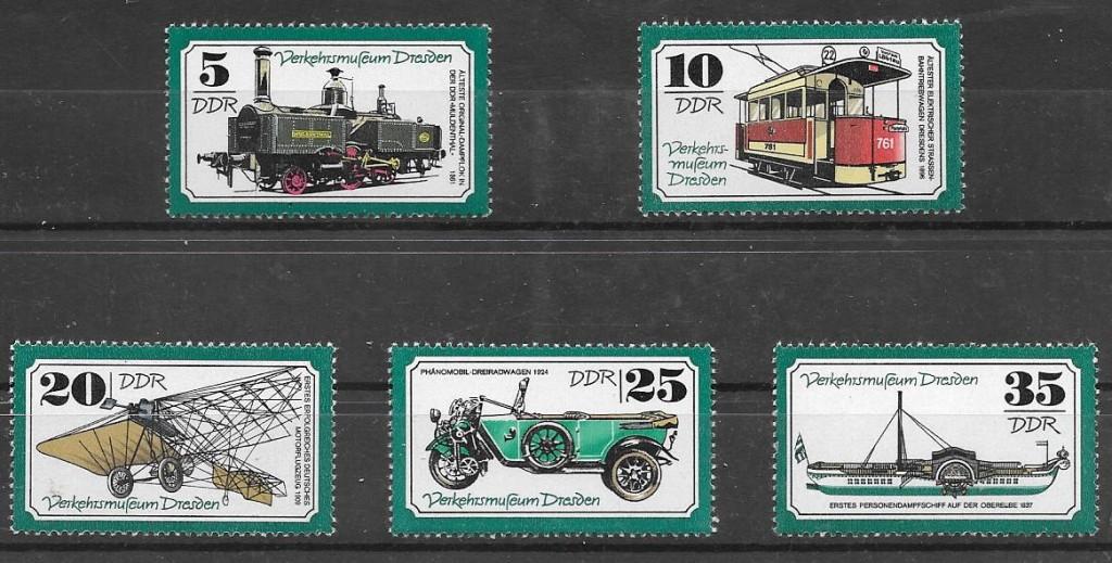 sellos transporte Alemania DDR