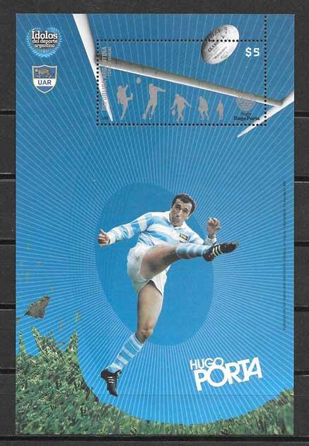 filatelia deporte Argentina 2008