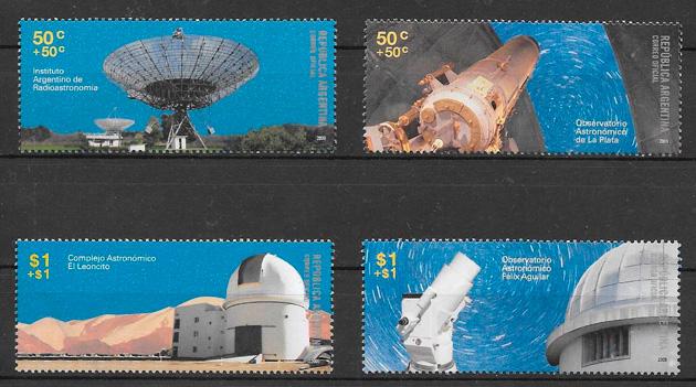 sellos espacio Argentina 2009