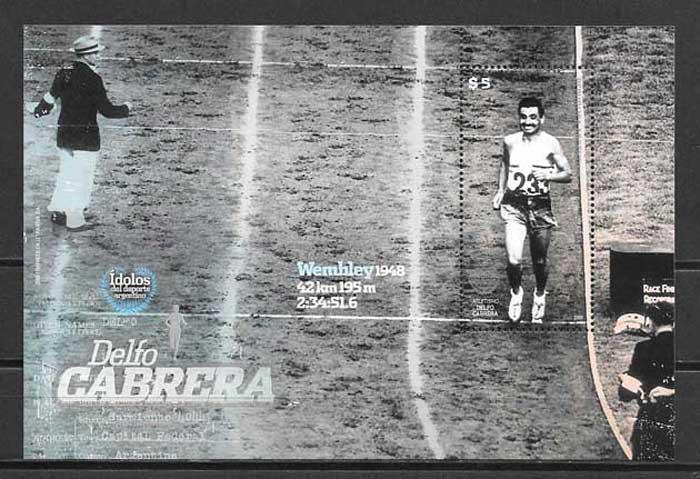 colección sellos Argentina Deporte 2009