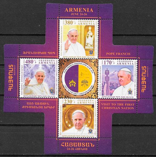 sellos personalidad Armenia 2016